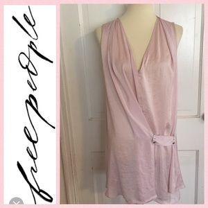 NWOT Free People Baby Pink Mini Dress Size Medium